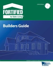 Builder's Guide - Institute for Business & Home Safety