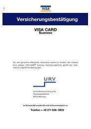 VISA CARD Business - Stadt-Sparkasse Solingen