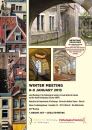 Winter Meeting - The Pathological Society of Great Britain & Ireland