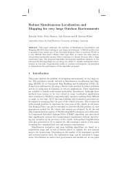 Robust Simultaneous Localization and Mapping for ... - Prisma.unina.it