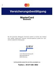 MasterCard Business - Stadt-Sparkasse Solingen