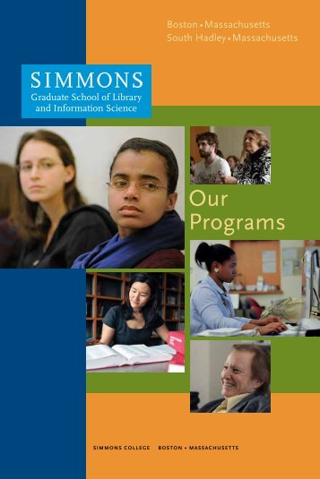 Graduate School Of Library And Information ... - Simmons College