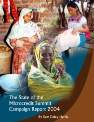 Untitled - Microcredit Summit Campaign