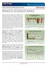 Gyvenamojo NT rinkos komentaras 2009 m. IV ketv. - Ober-Haus
