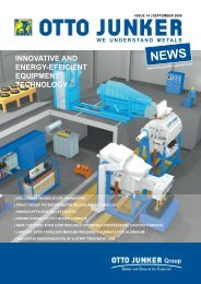 08002 Kundenzeitung_01_GB_Korr.indd - Otto Junker GmbH
