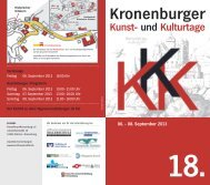 06. September 2013 - Kronenburger Kunst- und Kulturtage