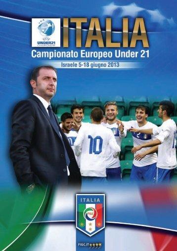 ITALIA Campionati Europei Under 21 Israele 5-18 giugno 2013 - Figc