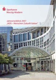 Stark in der Region vertreten - Sparkasse Merzig-Wadern