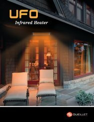 The UFO Heater - Ouellet Canada