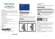 UC-7402-LX Plus Quick Installation Guide - Moxa