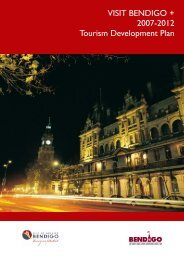 Destination Plan -GH - Bendigo Tourism