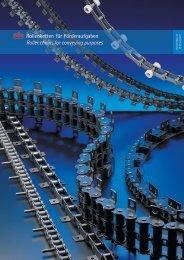 Rollenketten für Förderaufgaben Roller chains for ... - Alexandris