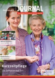 Kurzzeitpflege - AWO Seniorenzentrum Emilienpark