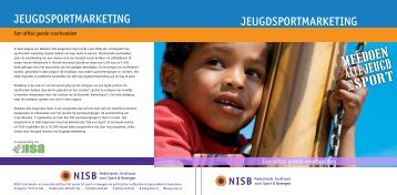 JeugdSportmarketINg JeugdSportmarketINg - Sport Knowhow XL