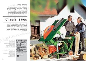 Circular saws - Posch