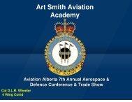 Art Smith Aviation Academy - Aviation Alberta