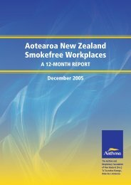 Aotearoa New Zealand Smokefree Workplaces: A 12-month report