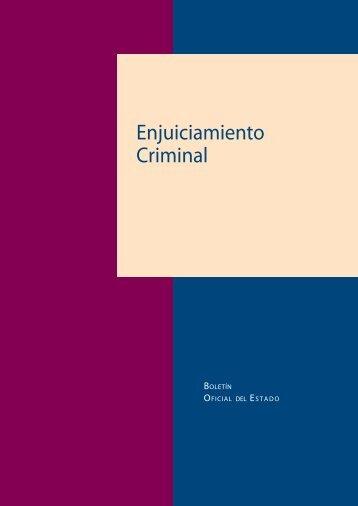 Enjuiciamiento Criminal - Federación de Servicios a la Ciudadanía