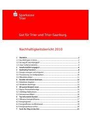 Nachhaltigkeit - Sparkasse Trier