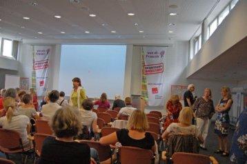 2012-07-10 Bilder politischer Frauentreff - ver.di München