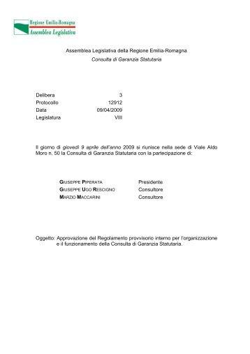 [PDF] Assemblea Legislativa della Regione Emilia-Romagna