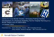 Development of a Prototype Modelling Tool for Hospital Planning on ...