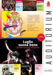 Luglio suona bene - Accademia Nazionale di Santa Cecilia