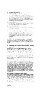 s-Sparkasse Versicherungsbestätigung für die MasterCard® Gold. - Seite 3
