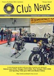 Magazine #853 - Sunbeam MCC