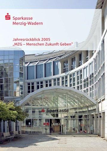 Organe der Sparkasse - Sparkasse Merzig-Wadern