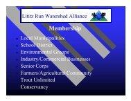 Lititz Run Watershed Alliance