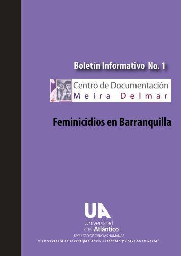 Boletin Informativo No.1 Centro de Documentación Meira Delmar 5