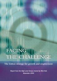 FACING THE CHALLENGE - Carlos Coelho