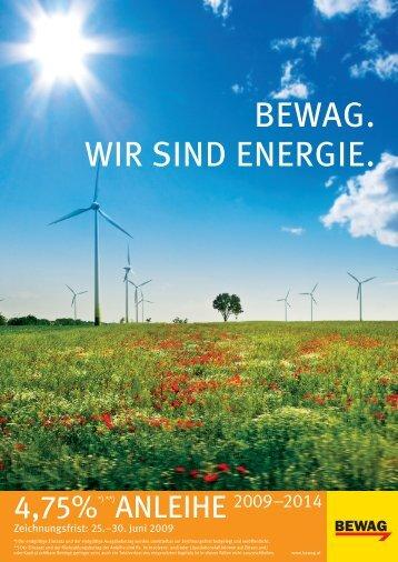 BEWAG. WIR SIND ENERGIE.