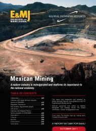 Mexican Mining - Global Business Reports