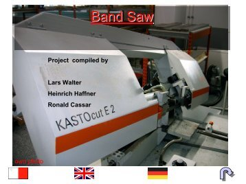 Project compiled by Lars Walter Heinrich Haffner Ronald Cassar