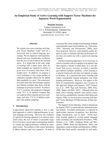 An Empirical Study of Active Learning with Support Vector Machines ...