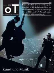Kunst und Musik - Das Magazin für Kunst, Architektur und Design