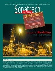 Sonatrach la Revue n°33 - Ministère de l'énergie et des mines