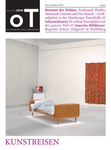 KuNstREisEN - Das Magazin für Kunst, Architektur und Design