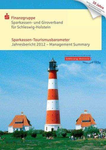 Sparkassen-Tourismusbarometer Jahresbericht 2012 ...