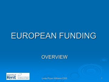 european funding - CEP, the European Organisation for Probation