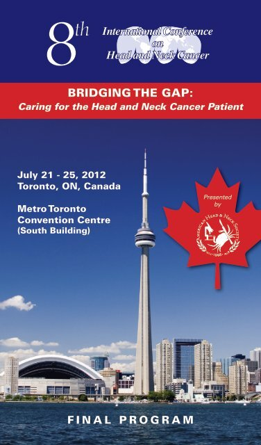8th International Conference on Head and Neck Cancer