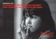 Jahresbericht 2008 - Pinocchio