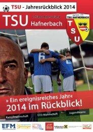 TSU - Jahresrückblick 2014