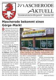 Mascherode bekommt einen Görge-Markt - SPD-Braunschweig Süd ...