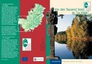 Tal der Augronne - Office de Tourisme des 1000 étangs