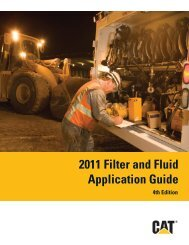 2011 Filter and Fluid Application Guide PEWJ0074-04