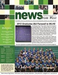 2012 Graduates Bid Farewell to WLHS - West Lutheran High School