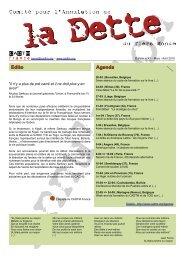 Edito Agenda - cadtm